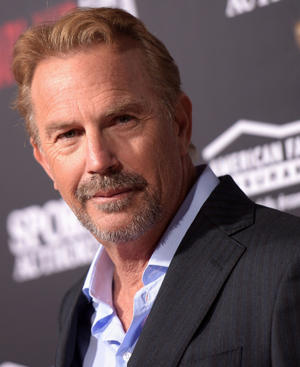 "Kevin Costner at the California premiere of ""McFarland, USA."""