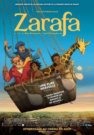 """Poster art for """"Zarafa."""""""