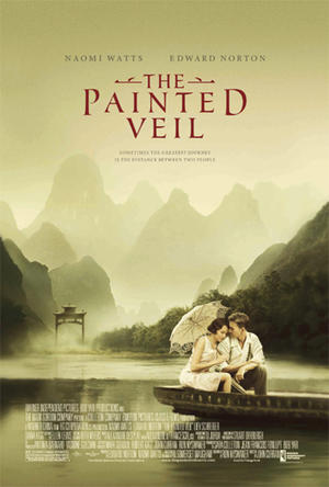 """Poster art for """"The Painted Veil."""""""