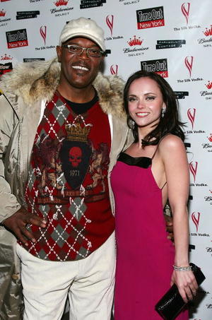 """Black Snake Moan"" co-stars Samuel L. Jackson and Christina Ricci at the N.Y. premiere."