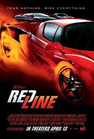 """Poster art for """"Redline."""""""