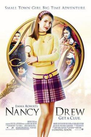 "Poster art for ""Nancy Drew."""