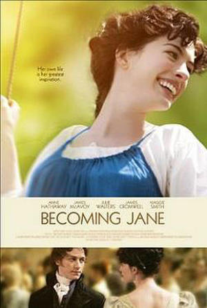 """Poster art for """"Becoming Jane."""""""