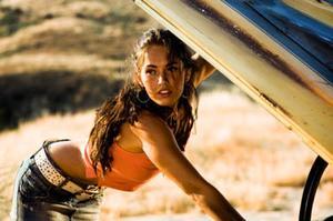 "Megan Fox in ""Transformers."""