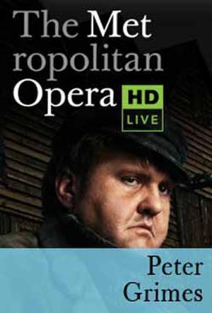 The Metropolitan Opera: Peter Grimes poster art.