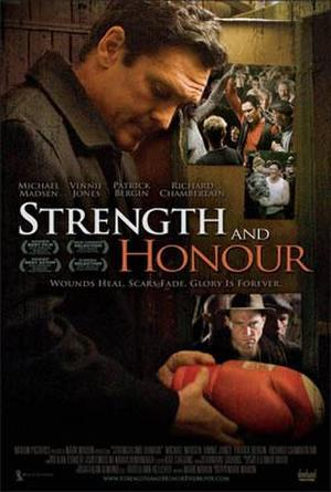 """Poster art for """"Strength and Honour."""""""