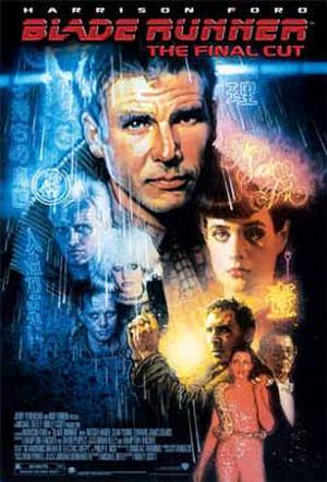 """Poster art for """"Blade Runner: The Final Cut."""""""