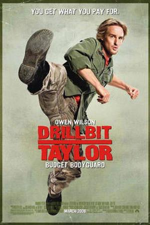 "Poster art for ""Drillbit Taylor."""