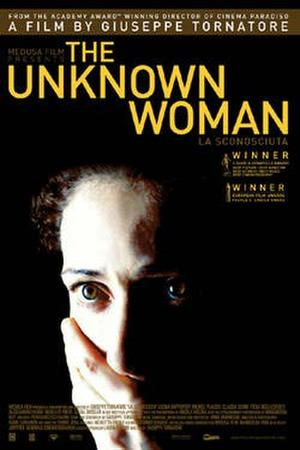"""Poster art for """"The Unknown Woman."""""""