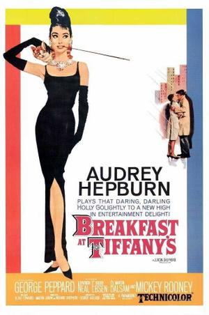 """Poster art for """"Breakfast at Tiffany's."""""""