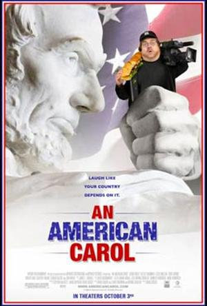 "Poster art for ""An American Carol."""