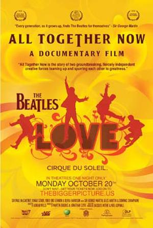 """Poster art for """"All Together Now."""""""