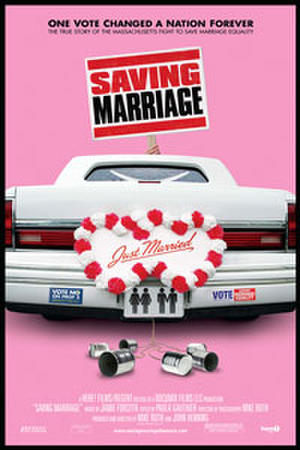 "Poster art for ""Saving Marriage."""
