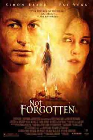"""Poster art for """"Not Forgotten."""""""