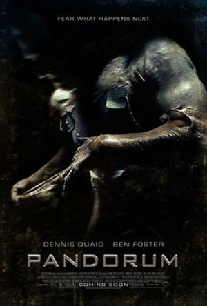 "Poster art for ""Pandorum."""