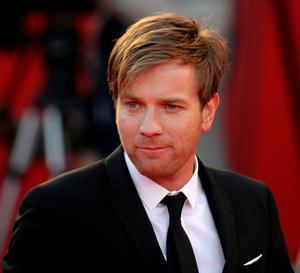 """Ewan McGregor at the Italy premiere of """"The Men Who Stare At Goats."""""""