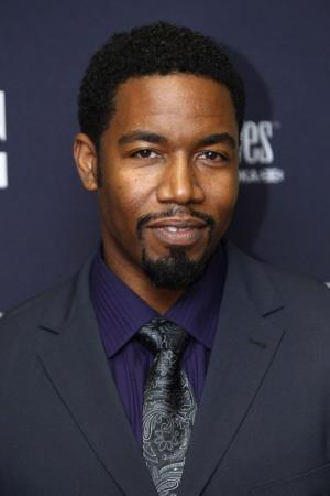 "Michael Jai White at the New York premiere of ""Black Dynamite."""
