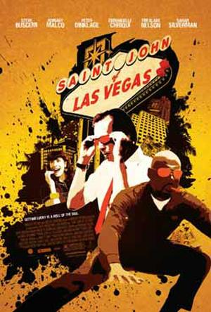 "Poster art for ""Saint John of Las Vegas."""