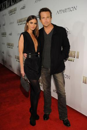 """Sean Patrick Flanery and Guest at the California premiere of """"The Boondock Saints II: All Saints Day."""""""