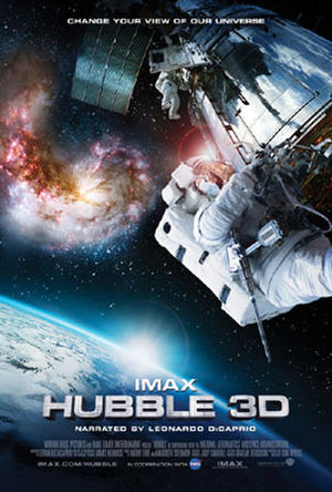 "Poster art for ""Hubble 3D."""