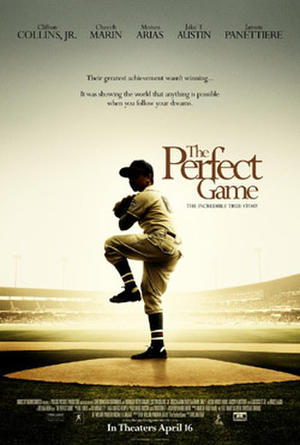 "Poster art for ""The Perfect Game."""