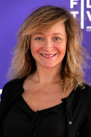 """Julie Ferrier at the New York premiere of """"Micmacs."""""""