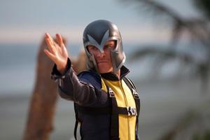 "Michael Fassbender as Erik 'Magneto' Lensherr in ""X-Men: First Class"""