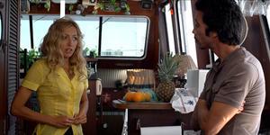 "Elika Portnoy as Elena Dubrovnik and Carlos Leon as Carlos Sanchez in ""Immigration Tango."""