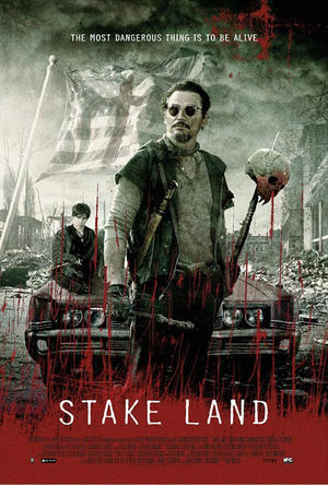 "Poster art for ""Stake Land."""