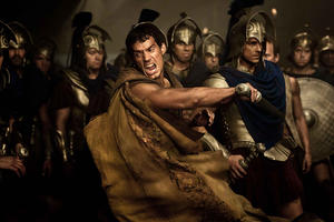 "Henry Cavill in ""Immortals."""