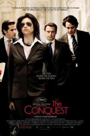 "Poster art for ""The Conquest."""