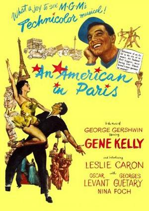 """Poster art for """"An American in Paris"""""""