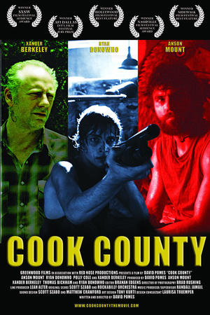 "Poster art for ""Cook County."""