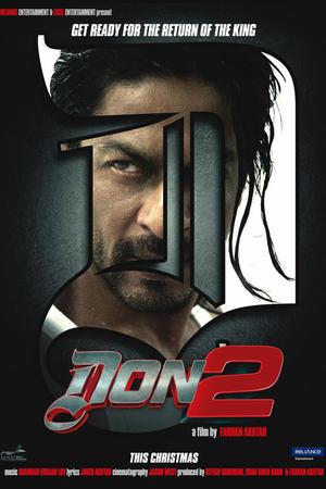 "Poster art for ""Don 2 3D."""