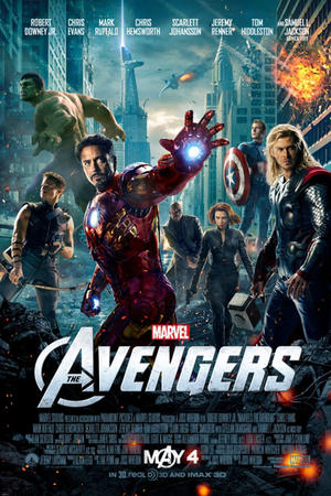 "Poster art for ""Marvel's The Avengers: An IMAX 3D Experience."""