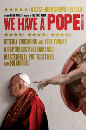 """Poster art for """"We Have a Pope."""""""