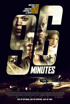 "Poster art for ""96 Minutes."""