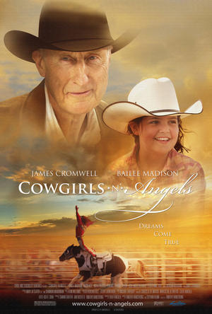 "Poster art for ""Cowgirls n' Angels."""