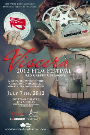 Poster art for Visceral Film Festival.