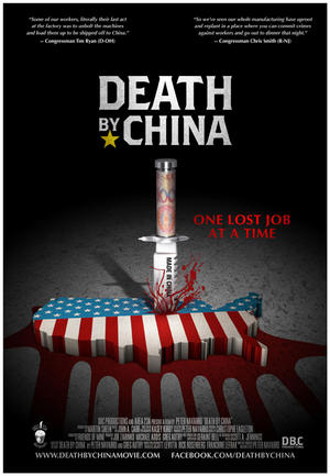 """Poster art for """"Death By China."""""""