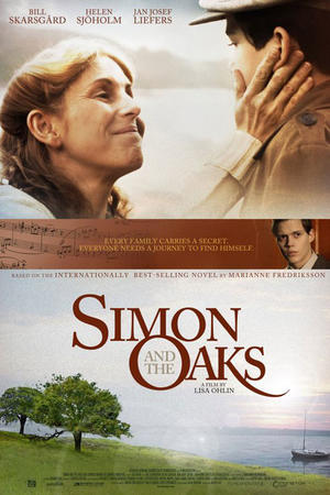 "Poster art for ""Simon and the Oaks."""