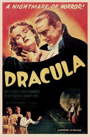 "Poster art for ""Dracula."""