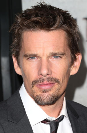 "Ethan Hawke at the California premiere of ""Sinister."""