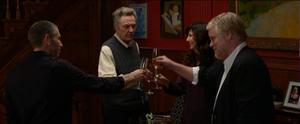 "Mark Ivanir, Christopher Walken, Catherine Keener and Philip Seymour Hoffman in ""A Late Quartet."""