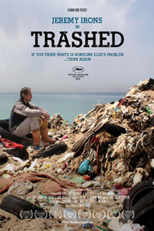 "Poster art for ""Trashed."""
