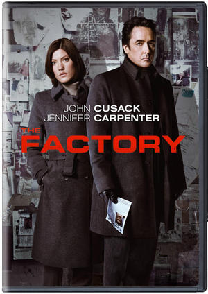 """Poster art for """"The Factory."""""""