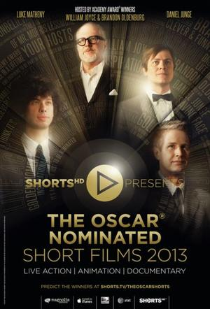 "Poster art for, ""The Oscar Nominated Short Films 2013: Live Action."""