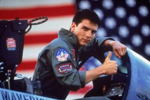"Tom Cruise in ""Top Gun."""