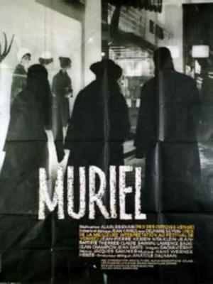 "Poster art for ""Muriel."""