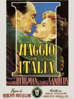 "Poster art for ""Journey to Italy."""